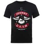 Johnny CASH: Winged Guitar (T-SHIRT Unisex )