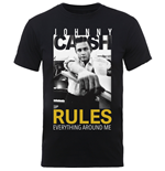 Johnny CASH: Rules Everything (T-SHIRT Unisex )
