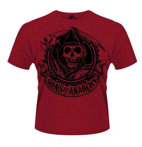 Sons Of ANARCHY: Reaper Banner (T-SHIRT Unisex )