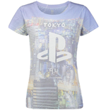 SONY: Playstation Sublimation Print (T-SHIRT Donna )