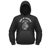 Sons Of ANARCHY: Classic (felpa Con Cappuccio Unisex )