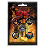 Ac/Dc - Highway To Hell (Badge Pack)