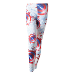 MARVEL: Captain AMERICA: Sublimation Printed (leggings )