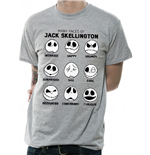 Nightmare Before Christmas (THE): Many Faces Of Jack (T-SHIRT Unisex )