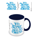 Friends (On A Break) Blue Inner Mug (Tazza)