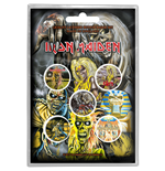 Iron Maiden - Early Albums Button (Badge Pack)