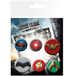 Justice League Movie - Mix (Badge Pack)