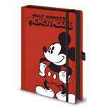 Mickey Mouse (Pose) A5 Premium Notebook (Quaderno)