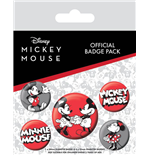 Mickey Mouse Badge Pack (Pin Badge Pack)