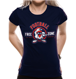 T-shirt Looney Tunes da donna - Design: ANTI-FOOTBALL