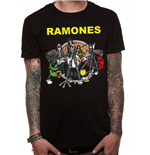 T-shirt The Ramones - Design: Team Ramones V11
