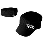 My Chemical Romance: Black Cadet With White Logo (cappellino)