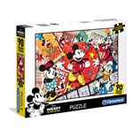 Puzzle 1000 Pz - High Quality Collection - Topolino A 90 Gradi