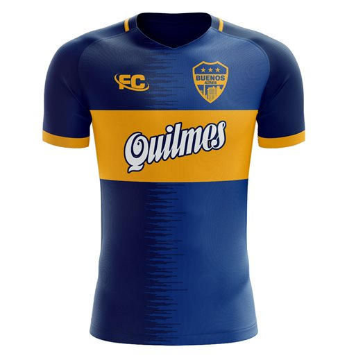 T-shirt Boca Juniors 2018-2019 Home