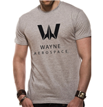 Justice League MOVIE: Wayne Aerospace (T-SHIRT Unisex )