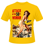 Attack Of The 50FT WOMAN: Poster (T-SHIRT Unisex )