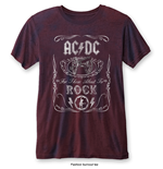 AC/DC: Cannon Swig Blue Red (T-SHIRT Unisex )