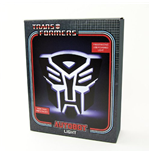Lampada Transformers - Autobot Light