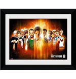 Doctor Who: Regenerate (Stampa In Cornice 30x40cm)