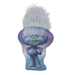 Trolls - Cuscino Sagomato Con Capelli 30 Cm Diamond Guy