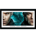 Supernatural - Brothers (30Mm Black) (Stampa In Cornice 50x100 Cm)