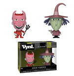 Nightmare Before Christmas (The): Funko Vynl - Lock And Shock