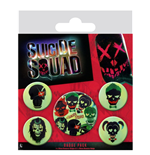Suicide Squad (Skulls) (Badge Pack)