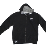 All Blacks Felpa Con Cappuccio Bambino FULL-ZIP