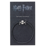 Harry Potter: Black Leather Charm Bracelet 18Cm (Braccialetto)