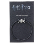 Harry Potter: Black Leather Charm Bracelet 19Cm (Braccialetto)