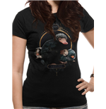 Fantastic BEASTS: Crimes Of GRINDELWALD: Nifflers (T-SHIRT Donna )
