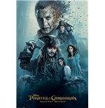 Pirates Of The Caribbean - Burning (Poster Maxi 61x91,5 Cm)