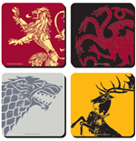 Game Of Thrones (Set 4 Sottobicchieri)