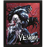 Venom (Teeth And Claws) 10X8 3D (Poster Lenticolare 3D)