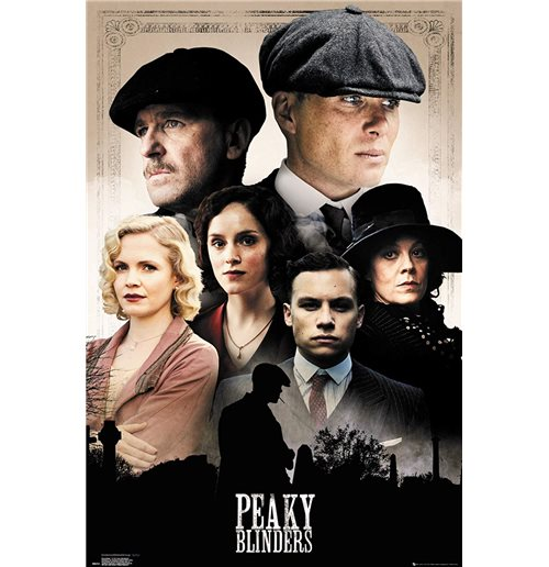 Peaky Blinders - Cast (Poster Maxi 61x91,5 Cm)