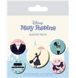 Mary Poppins Badge Pack (Pin Badge Pack)