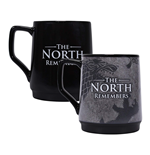 Game Of Thrones: North Remember Mug Heat Changing (400Ml) (Tazza Termosensibile)