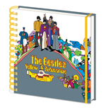 Beatles (The): (Yellow Submarine) Square Notebook (Quaderno)