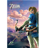 The Legend Of Zelda: Breath Of The Wild - Hyrule Scene Landscape (Poster Maxi 61X91,5 Cm)