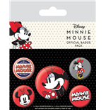 Minnie Mouse Badge Pack (Pin Badge Pack)