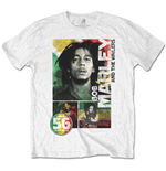 Bob MARLEY: 56 Hope Road Rasta (T-SHIRT Unisex )