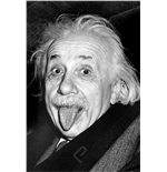 Einstein Tongue 2400-1324 (Poster)
