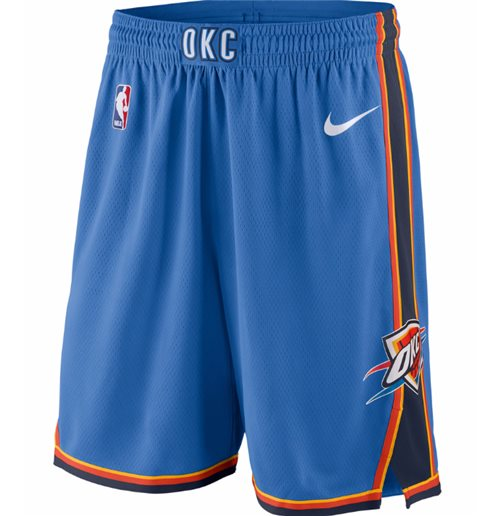 Pantaloncini short Oklahoma City Thunder Classic Edition Swingman