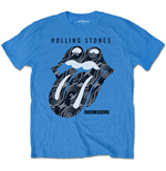 T-shirt The Rolling Stones da uomo - Design: Steel Wheels