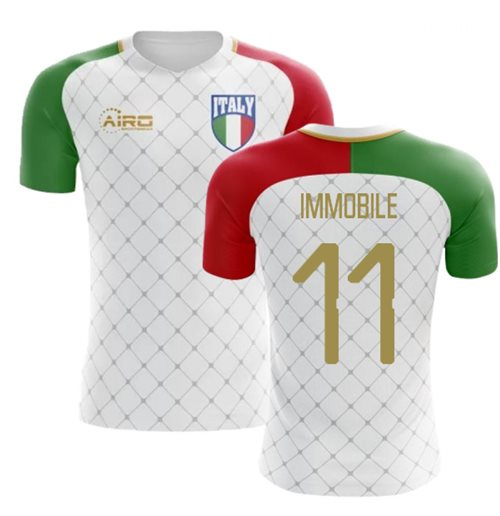 Maglia Italia Calcio 2018-2019 Away