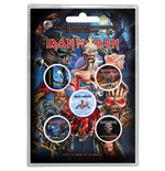 Iron Maiden - Later Albums Button (Badge Pack)