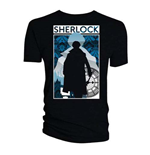 T-shirt Sherlock da donna - Design: Silhouette City