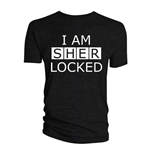 T-shirt Sherlock da uomo - Design: I am Sherlocked