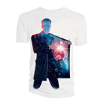 T-shirt Doctor Who da uomo - Design: 12th Doctor Galaxy Coat Lining