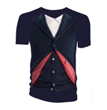T-shirt Doctor Who da donna - Design: 12th Doctor Costume